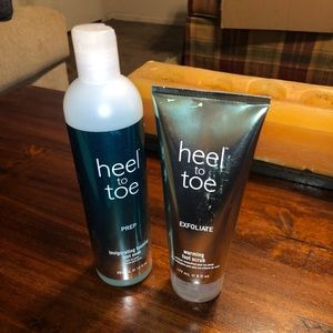 Other - Heel to toe pedicure set new